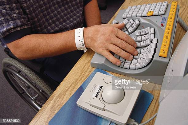 One-handed Computer Keyboard and Mouse