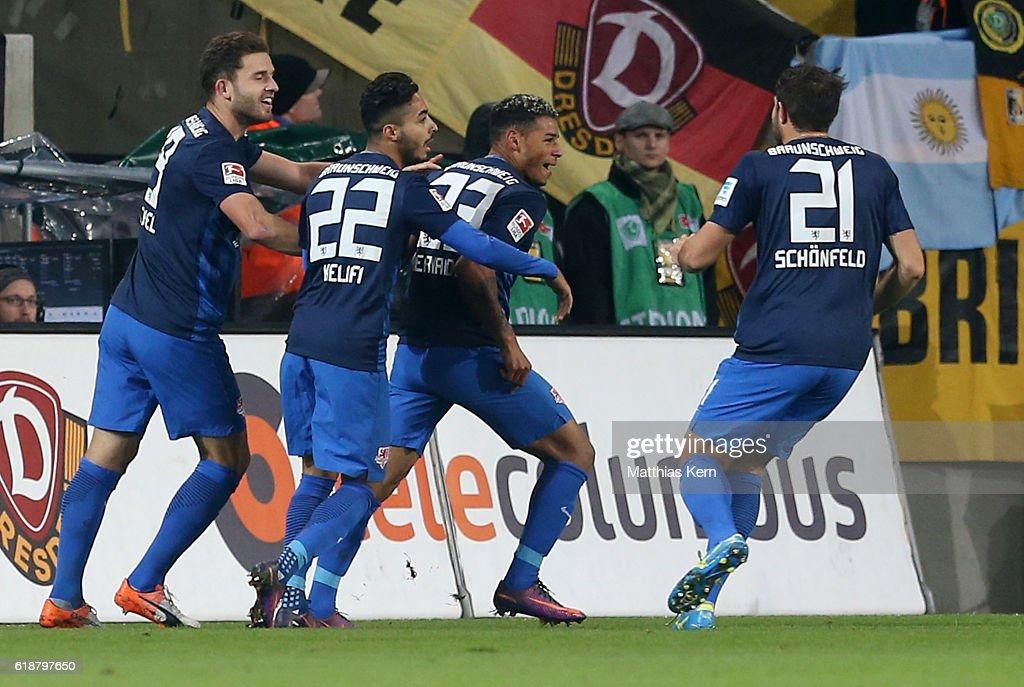SG Dynamo Dresden v Eintracht Braunschweig - Second Bundesliga