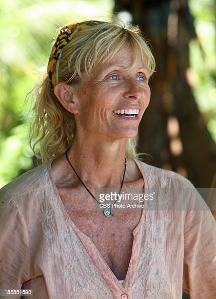 OneMan Wrecking Ball Tina Wesson during the sixth episode of SURVIVOR BLOOD vs WATER Wednesday Oct 23 on the CBS Television Network