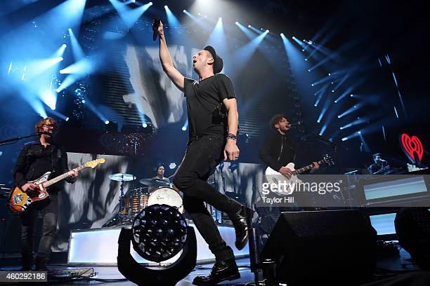 OneRepublic perform during Q102's Jingle Ball on December 10 2014 in Philadelphia Pennsylvania