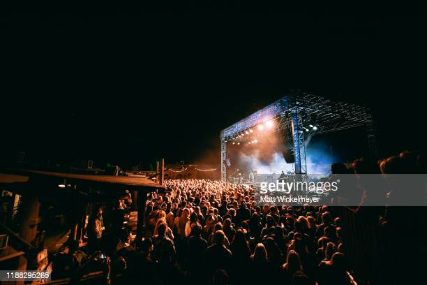 """OneRepublic performs at Enterprise's """"Share the Code. Hit the Road"""" at famed venue Pappy & Harriet's in Pioneertown, CA. At Pappy & Harriet's on..."""