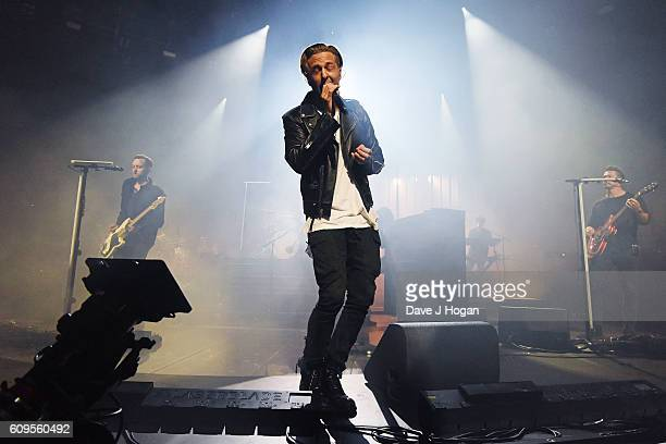 OneRepublic performs during the Apple Music Festival at The Roundhouse on September 21 2016 in London England