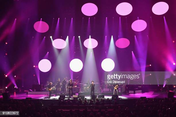 OneRepublic performs onstage during MusiCares Person of the Year honoring Fleetwood Mac at Radio City Music Hall on January 26, 2018 in New York City.