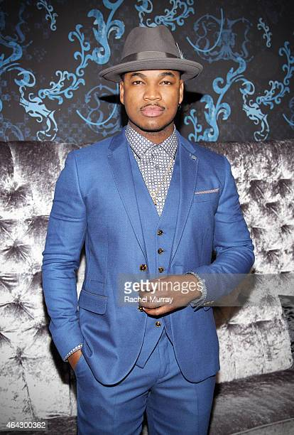 One's 'Hello Beautiful Interludes Live' featuring Recording Artist NeYo at The Conga Room in LA Live on February 23 2015 in Los Angeles California