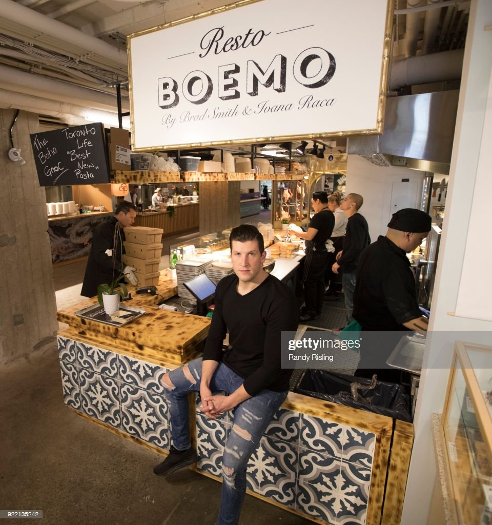One-time Bachelor Brad Smith is now a restaurateur. Boemo is one of the new boutique food stalls at Assembly Chef's Food Hall, 111 Richmond St. W. February 9, 2018.