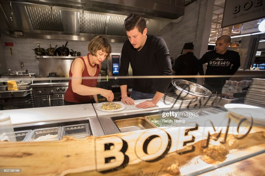 One-time Bachelor Brad Smith is now a restaurateur. He shows our reality show pro, Debra Yeo, how to make the perfect gnocchi at Boemo, one of the new boutique food stalls at Assembly Chef's Food Hall, 111 Richmond St. W. February 9, 2018.
