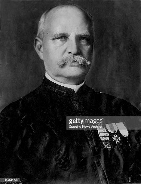 Onetime National League president Col Abraham G Mills in ca 1883 Mills also chaired the commission which determined that Abner Doubleday invented the...