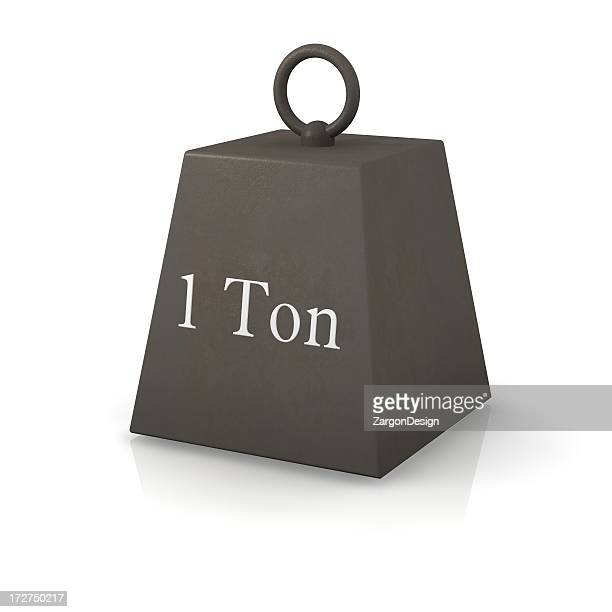 oneton weight - mass unit of measurement stock pictures, royalty-free photos & images