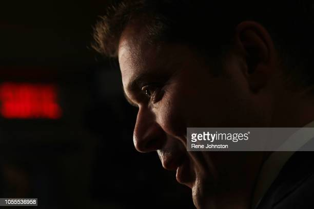 Federal Official Opposition Andrew Scheer meets the Toronto Press corps at Queen's Park Ontario Premier Doug Ford met with the leader of the Federal...