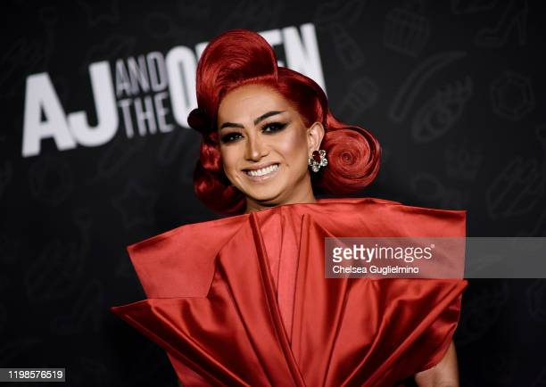 Ongina attends the premiere of Netflix's AJ and the Queen Season 1 at the Egyptian Theatre on January 09 2020 in Hollywood California