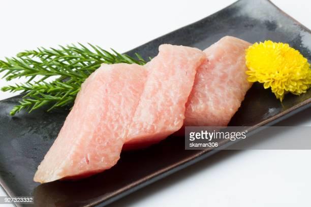 Onigiri Otoro (fatty tuna)sushi