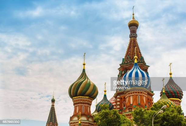 onion domes of Saint Basil's Cathedral