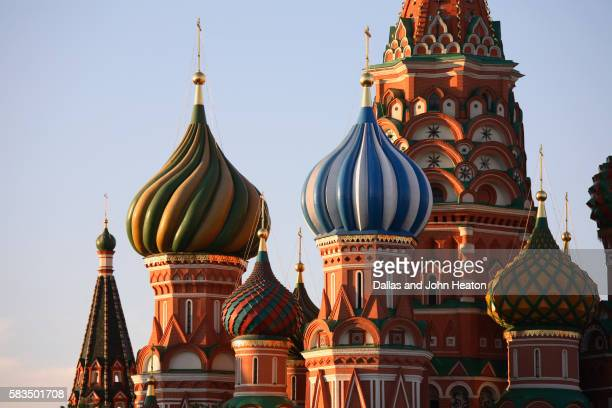Onion Domes of St. Basil's Cathedral