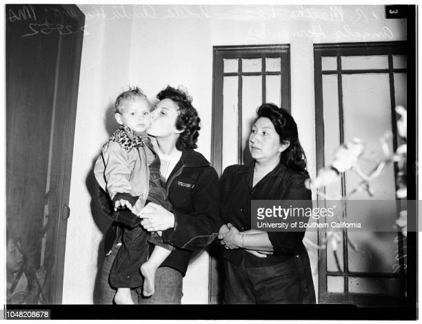 Onion murder 29 February 1952 Detective A GoldberryLorraine Moreno 19 years Mrs Angela HernandezOfficer T J TigheMiss Martha LeeFrank Lee 13233 Terra...