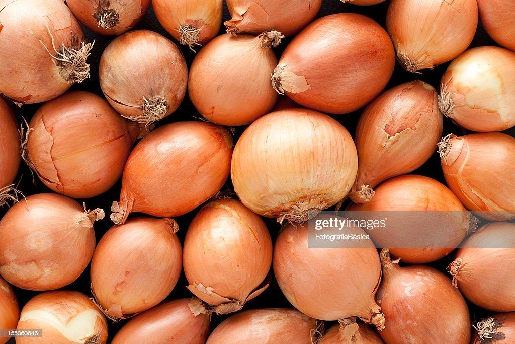 Onions background : Stock Photo