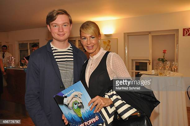 Onka Takats attends the Mary Poppins musical premiere at Ronacher Theater on October 1 2014 in Vienna Austria