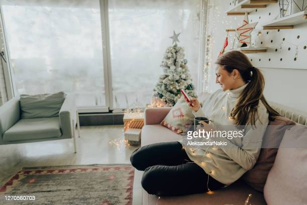 online christmas shopping - public celebratory event stock pictures, royalty-free photos & images
