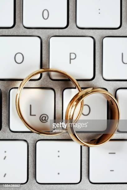 Online-Dating-Konzept