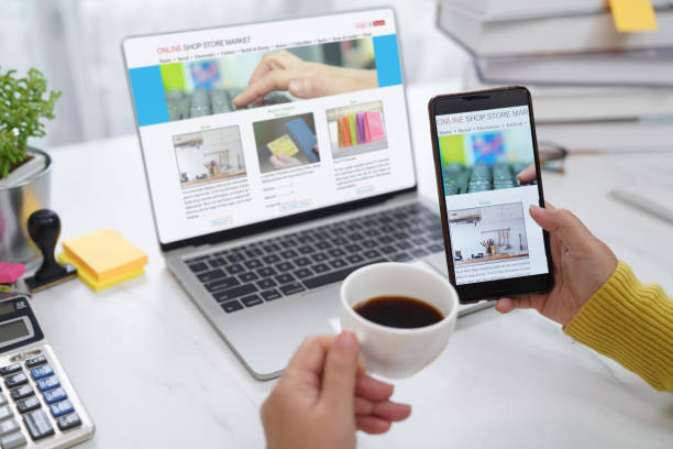 online ecommerce work from home picture
