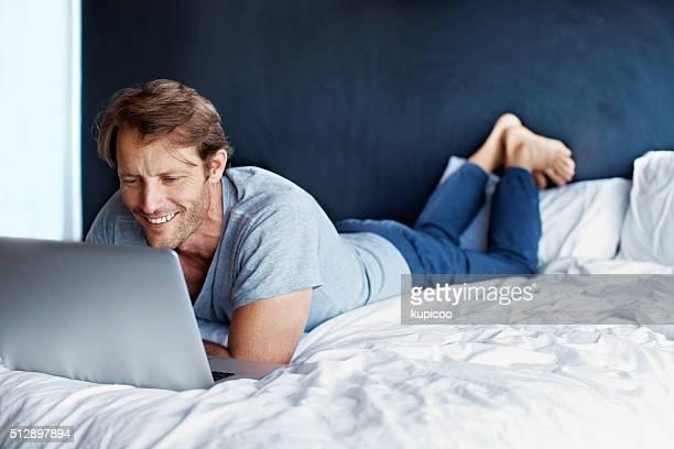 En ligne depuis le confort de son lit
