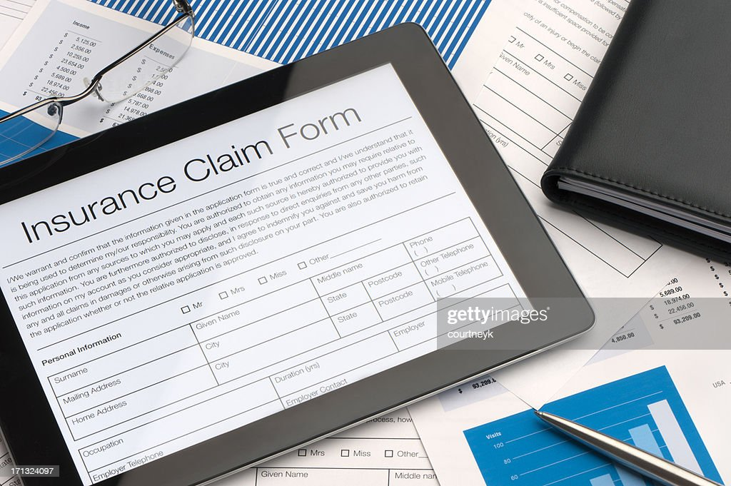 Claim Form Stock Photos And Pictures Getty Images