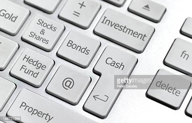 Online investment keyboard