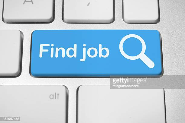 Online job finder button