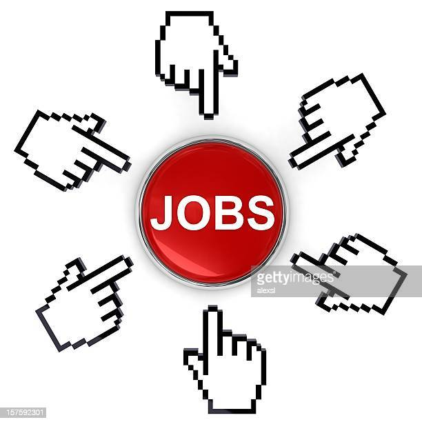 online job search - cursor stock pictures, royalty-free photos & images