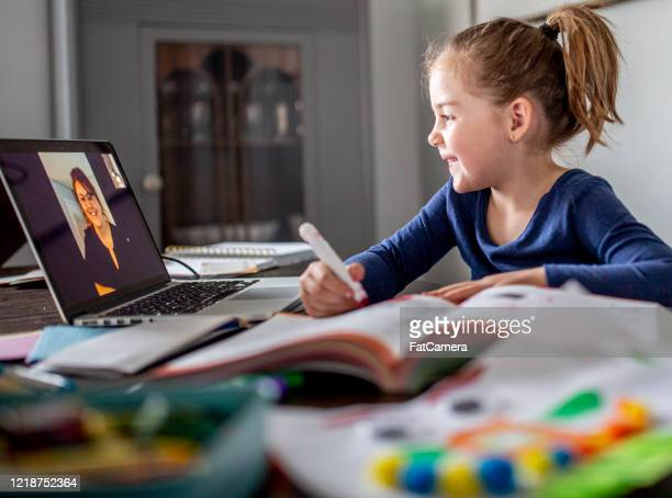 online learning and teaching - tutor stock pictures, royalty-free photos & images