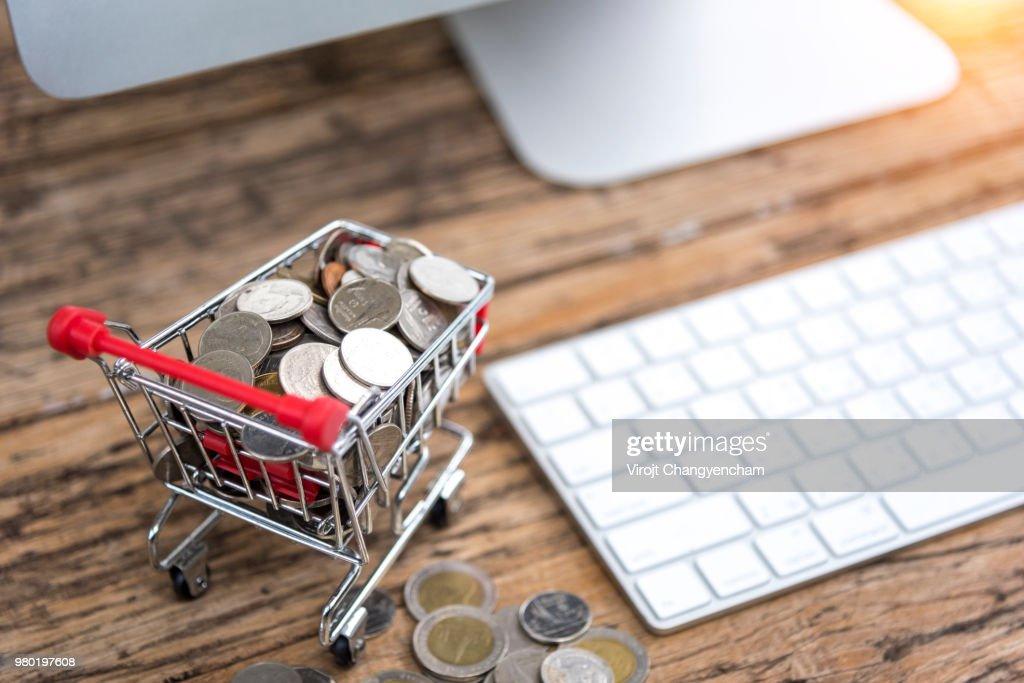 Online market : Stock Photo