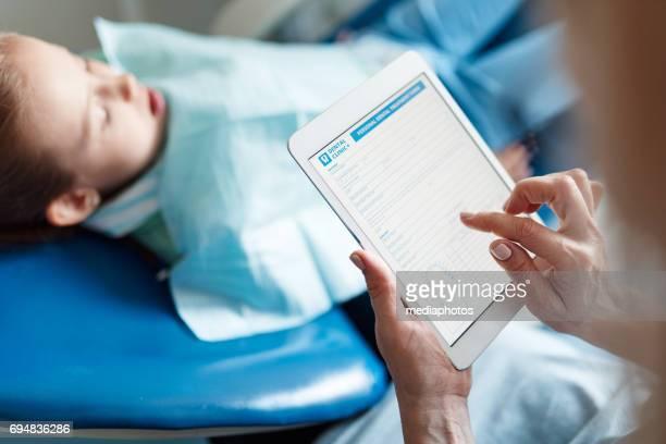 Registros médicos en línea