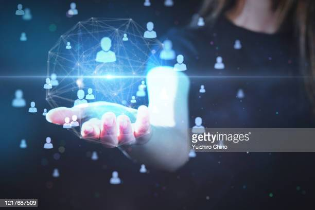 online meeting - customer engagement stock pictures, royalty-free photos & images