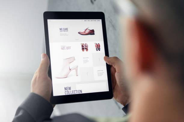 online shop digital tablet picture