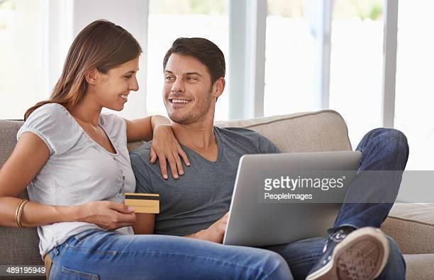 Compras en línea en casa