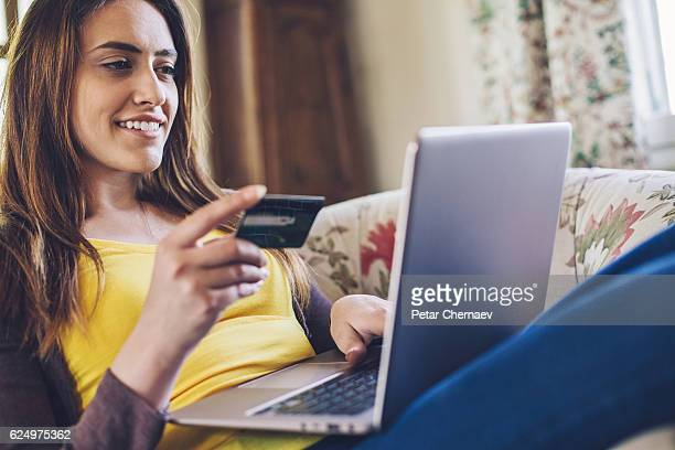 On-line shopping from home