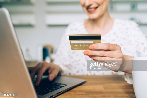 online shopping - money transfer stock pictures, royalty-free photos & images