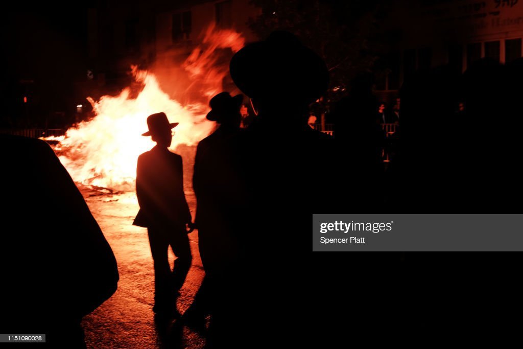 NY: Jewish Holiday Of Lag B'Omer Celebrated In Brooklyn
