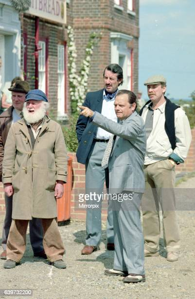 Only Fools and Horses TV Programmes Cast of TV Show Behind The Scenes with David Jason Buster Merryfield John Challis and Denis Lill