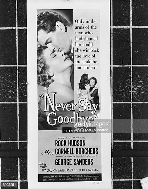 'Only in the arms of the man who had shamed her could she win back the love of the child he had stolen' Rock Hudson and Cornell Borchers star in the...
