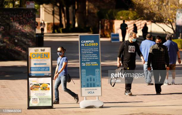 Only roughly 700 students and a few staff are living on the UCLA campus which is closed to the public because of the Covid pandemic. The financial...