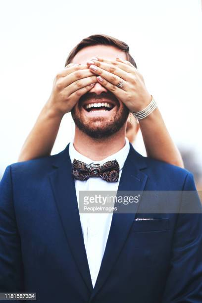 i only see fun times ahead with you my love - bridegroom stock pictures, royalty-free photos & images