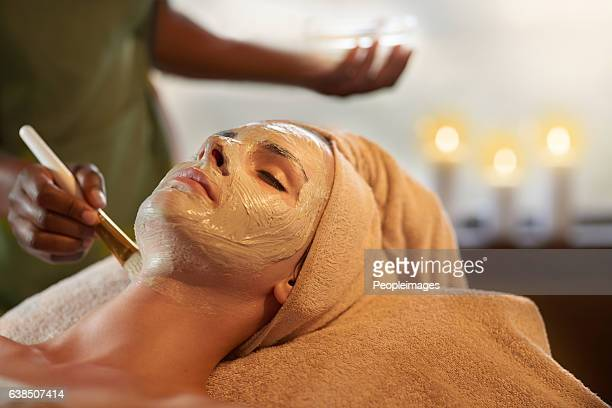 only the best for perfect skin - beauty care occupation stock photos and pictures