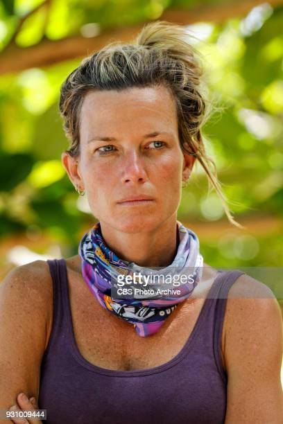 Only Time Will Tell Angela Perkins on the third episode of Survivor Ghost Island airing Wednesday March 7 on the CBS Television Network