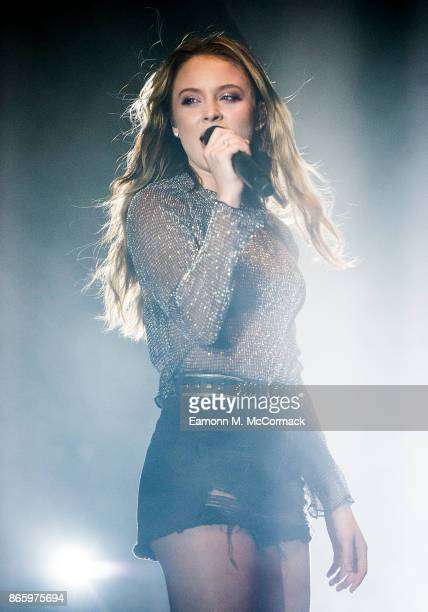 ONLYZara Larsson performs live on stage at Eventim Apollo on October 24 2017 in London England
