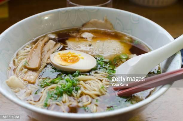 onomichi ramen - ramen noodles stock pictures, royalty-free photos & images
