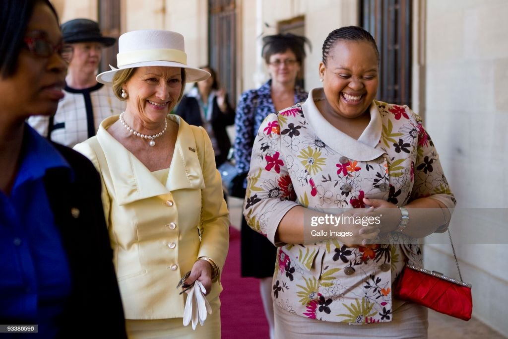 King Harald V And Queen Sonja Of Norway State Visit To South Africa