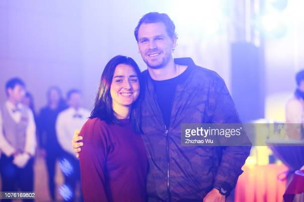 Ons Jabeur attends the player party during 2019 WTA Shenzhen Open at Zhu Jiang Crowne Plaza Hotel on December 31, 2018 in Shenzhen, China.