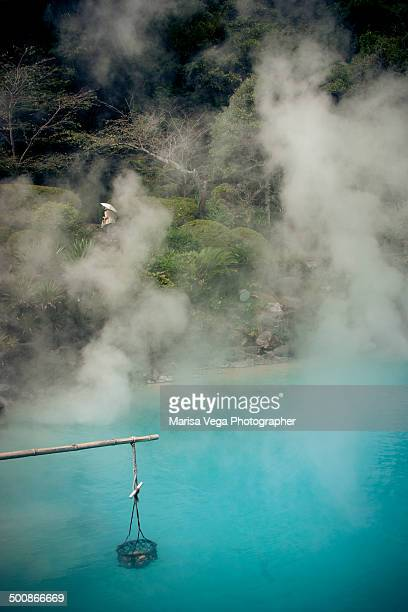 Onsen, the Umi jigoku Springs, Hell of the Sea