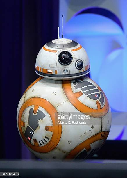 BB8 onstage during Star Wars Celebration 2015 on April 16 2015 in Anaheim California