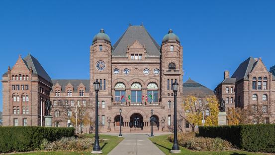 Ontario Legislative Building at Queen's Park, Toronto, Canada 623124378